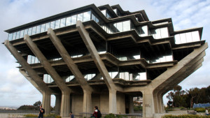 University of California at San Diego, Theodor Seuss Geisel Library.  Photo by Chris Stone