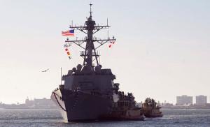USS Wayne E. Meyer. Image courtesy Wikimedia Commons