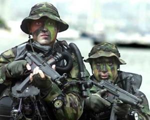 Navy SEALs training. Navy photo via Wikimedia Commons