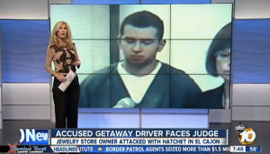 Travis Kelley is seen in ABC 10News report. Image from YouTube