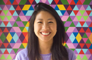 UCSD graduate Brina Lee of Instagram.  Photo by ELLE magazine via UCSD News Center
