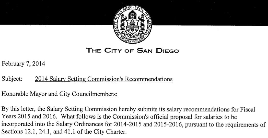 San Diego To Weigh Salary Panel S Opposition To Mayor