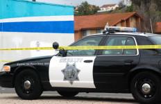 San Diego County Sheriff's Deputy car.  Photo by Chris Stone