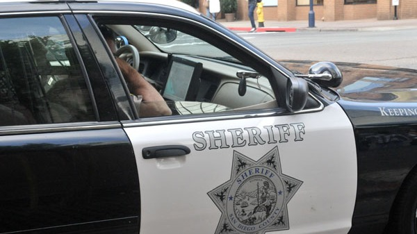A San Diego Sheriff's criiser. Photo by Chris Stone