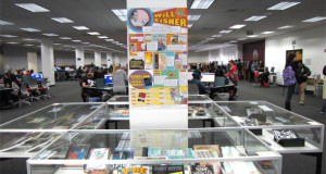 Will Eisner Week, celebrating the famed comic artist, is celebrated by San Diego State library. Photo by SDSU NewsCenter