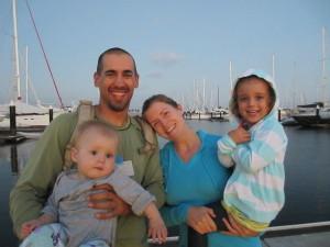Kaufman family photo from www.therebelheart.com.