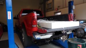 Border Patrol finds $1.4 million worth of drugs hidden in metal door. Border Patrol photo