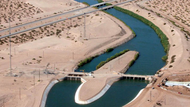 The San Diego County Water Authority is upgrading the All-American Canal to increase water supplies from sources other than the Metropolitan Water District. Photo courtesy water authority