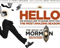 """""""The Book of Mormon"""" promotional poster. Photo credit: sandiegotheatres.org"""