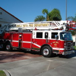 Chula Vista Fire Department truck