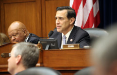 Rep. Darrell Issa at a House meeting. Photo courtesy Issa's office