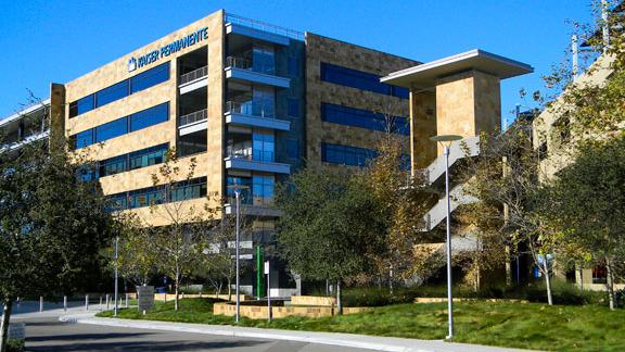 A Kaiser Permanente facility in San Diego