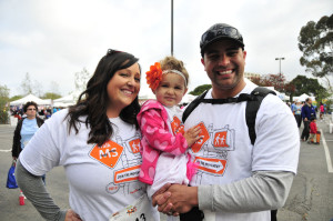 Participants in an earlier MS walk. Photo courtesy National Multiple Sclerosis Society
