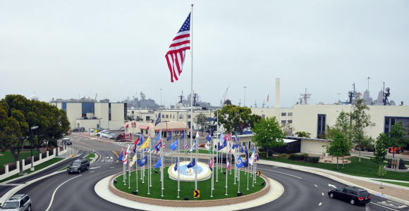 Naval Base San Diego. Image from cnic.navy.mil