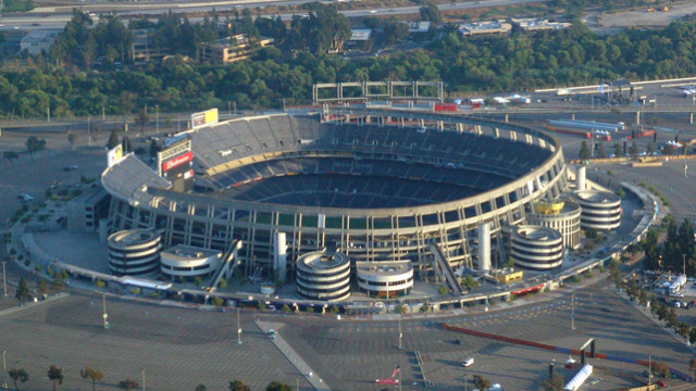 Qualcomm Stadium, current home of the San Diego Chargers. Photo via Wikimedia Commons