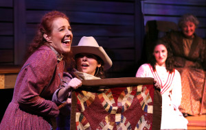"Scene from ""The Quilters"" at Lamb's Players Theatre."