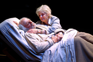 """Richard Doyle and Lynn Milgrim in """"Rest"""" at the South Coast Repertory."""