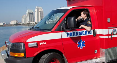A ambulance operated by Rural/Metro Corp. for San Diego. Photo courtesy Rural/Metro