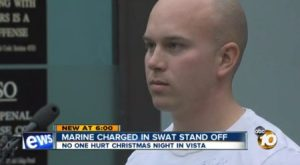 Christopher Michael Johnson in court following Christmas 2013 shooting. Photo credit: 10News.com