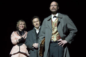"The Coronado Playhouse's production of ""Sherlock Holmes: The Final Adventure."""