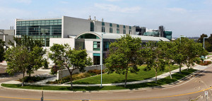 Shiley Eye Center at UC San Diego. Photo courtesy of UCSD News Center