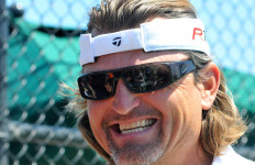Trevor Hoffman, appearing at a 2013 charity fund-raiser at San Dieguito County Park in Del Mar. Photo by Chris Stone