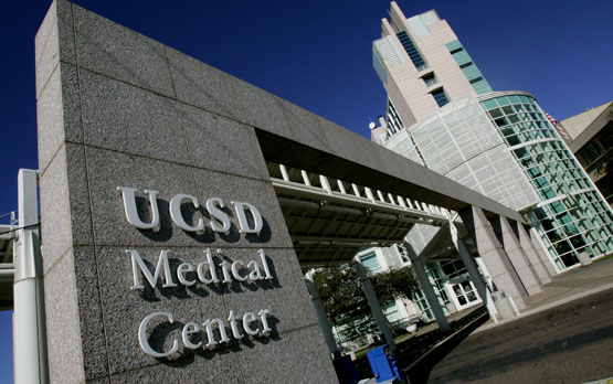 UC San Diego Medical Center in Hillcrest. Photo courtesy UCSD News Center