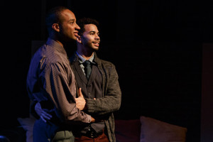 "The new play ""in the crowding darkness"" at UC San Diego. Photo by Jim Carmody"