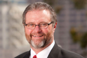Anthony Beebe, moving from president of continuing education to president of San Diego City College. Photo via SDCCD