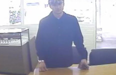 Travis Scott Kelley, in surveillance video. Photo credit: 10news.com
