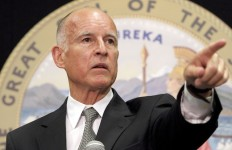 Gov. Jerry Brown. Photo courtesy state of California