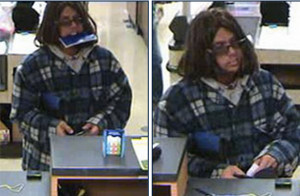 FBI photos of Vons robbery suspect near La Mesa.