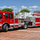 A San Diego Fire Rescue truck. Photo courtesy City of San Diego