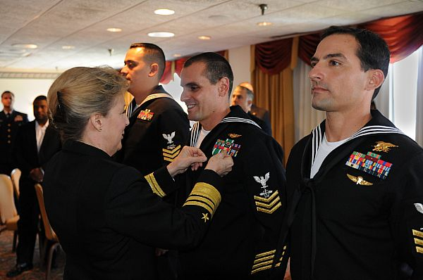... Naval Air Station North Island during April 10, 2014 ceremony. Photo