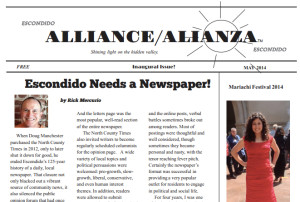 First issue was distributed in the last days of April.