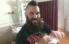 Chargers safety Eric Weddle announced the birth of daughter Kamri Jo via Twitter. Photo courtesy of @weddlesbeard.