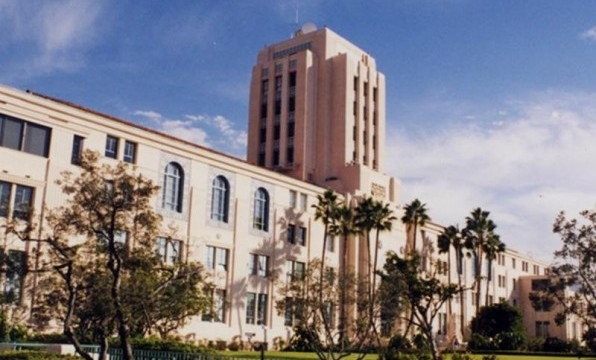 The historic San Diego County Administration Center on the waterfront in downtown San Diego. Courtesy County News Center
