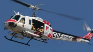 Cal Fire UH-1H Super Huey helicopter. Photo courtesy Cal Fire