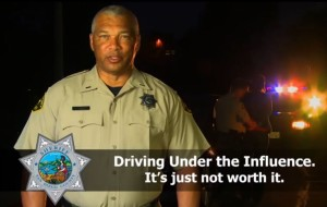 Public service message from San Diego County Sheriff's Department.