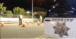 Sheriff's Department DUI checkpoint. Image via sheriff's office