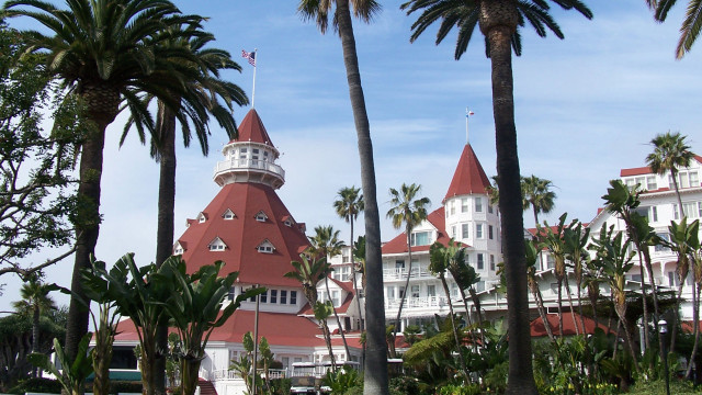 Tax revenues from the Hotel Del Coronado help support the city's financial strength. Photo via Wikimedia Commons