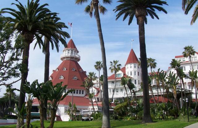 Το Εμβληματικό Ξενοδοχείο Del Coronado Προσωρινά Το Κλείσιμο Μέσα Coronavirus Πανδημία