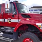 Cal Fire vehicle