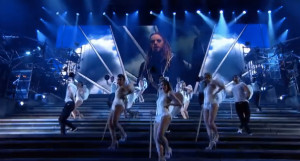 "Scene from ""Jesus Christ Superstar"" arena tour. Image via YouTube"