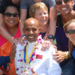 Meb Keflezighi was honored at his alma mater, San Diego High School, after winning the 2014 Boston Marathon. Photo by Chris Stone