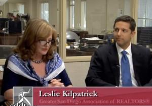 San Diego Association of Realtors President Leslie Kilptatrick. Photo via YouTube