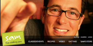 Sam Zien, the Cooking Guy of TV fame, will be host for sixth straight year. Image from thecookingguy.com