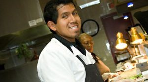 A study has found that the majority of low-wage workers are employed by local restaurants, schools and universities. Photo credit: hds.ucsd.edu