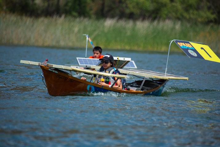 40 Teams Vie In Unique 3 Day Solar Boat Competition
