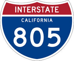 Interstate 805. Photo credit: Wikimedia Commons.